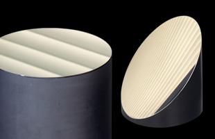 結晶材 研磨加工例のイメージ