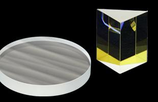 光学ガラス材 研磨加工例のイメージ